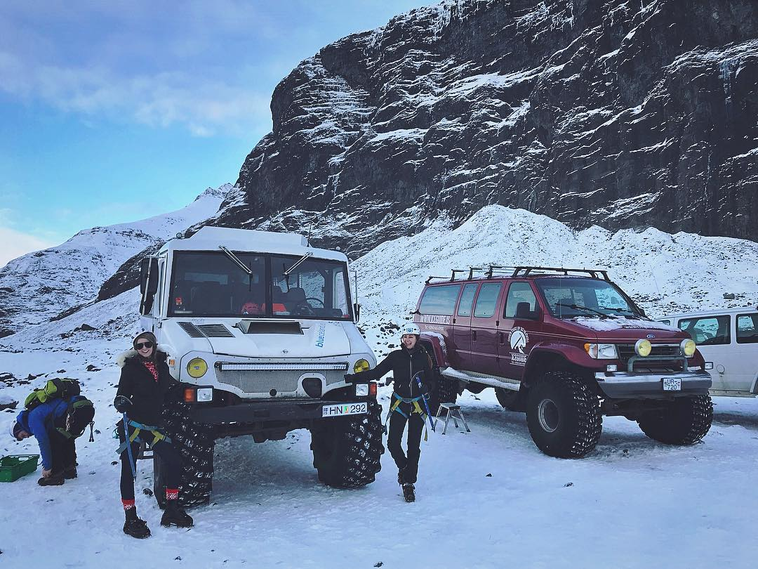 Glacier Guests and Glacier Vehicle