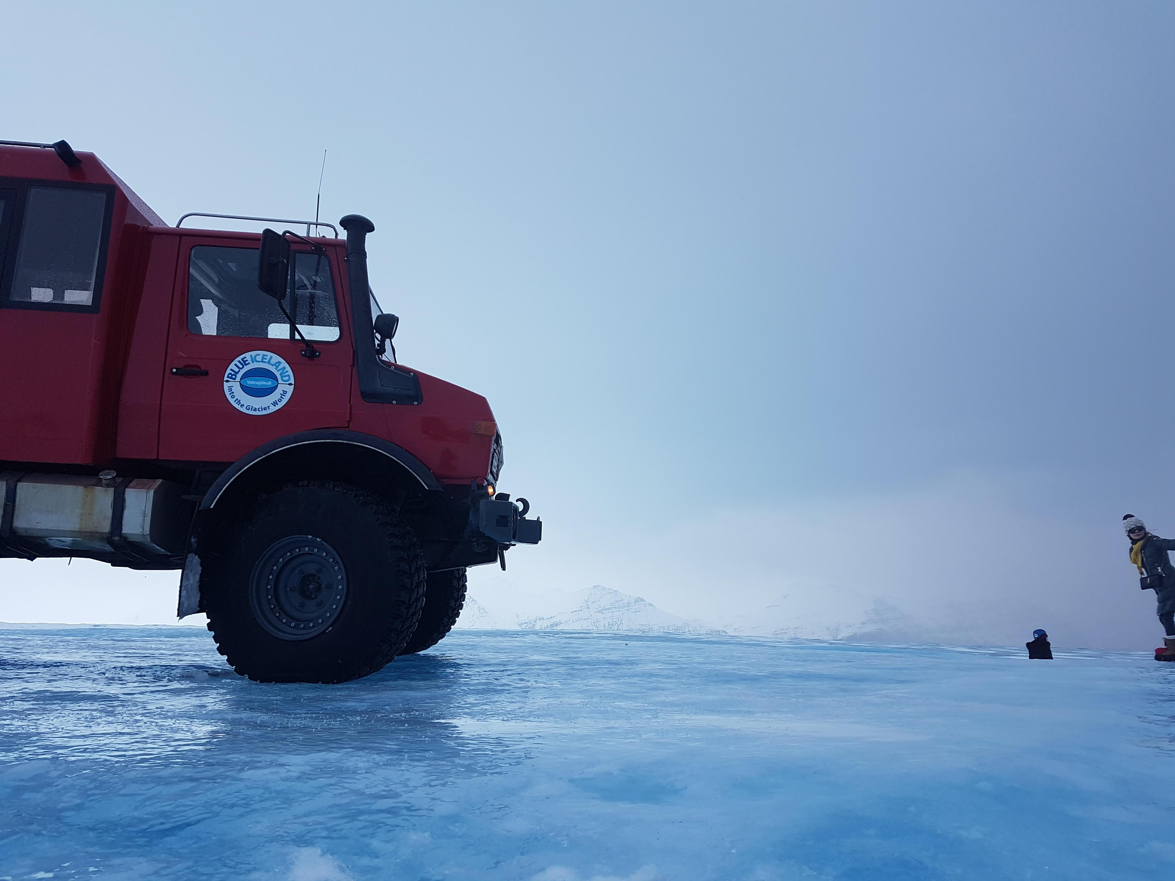 Unimog Rodolf Blue Iceland Glacier Vehicle