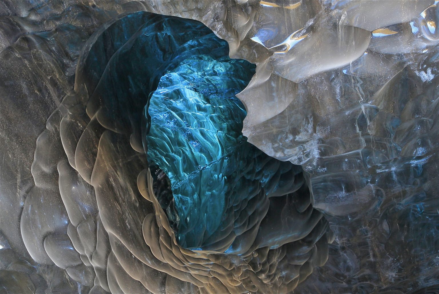 Ice Cave tour Blue Iceland - ice formation