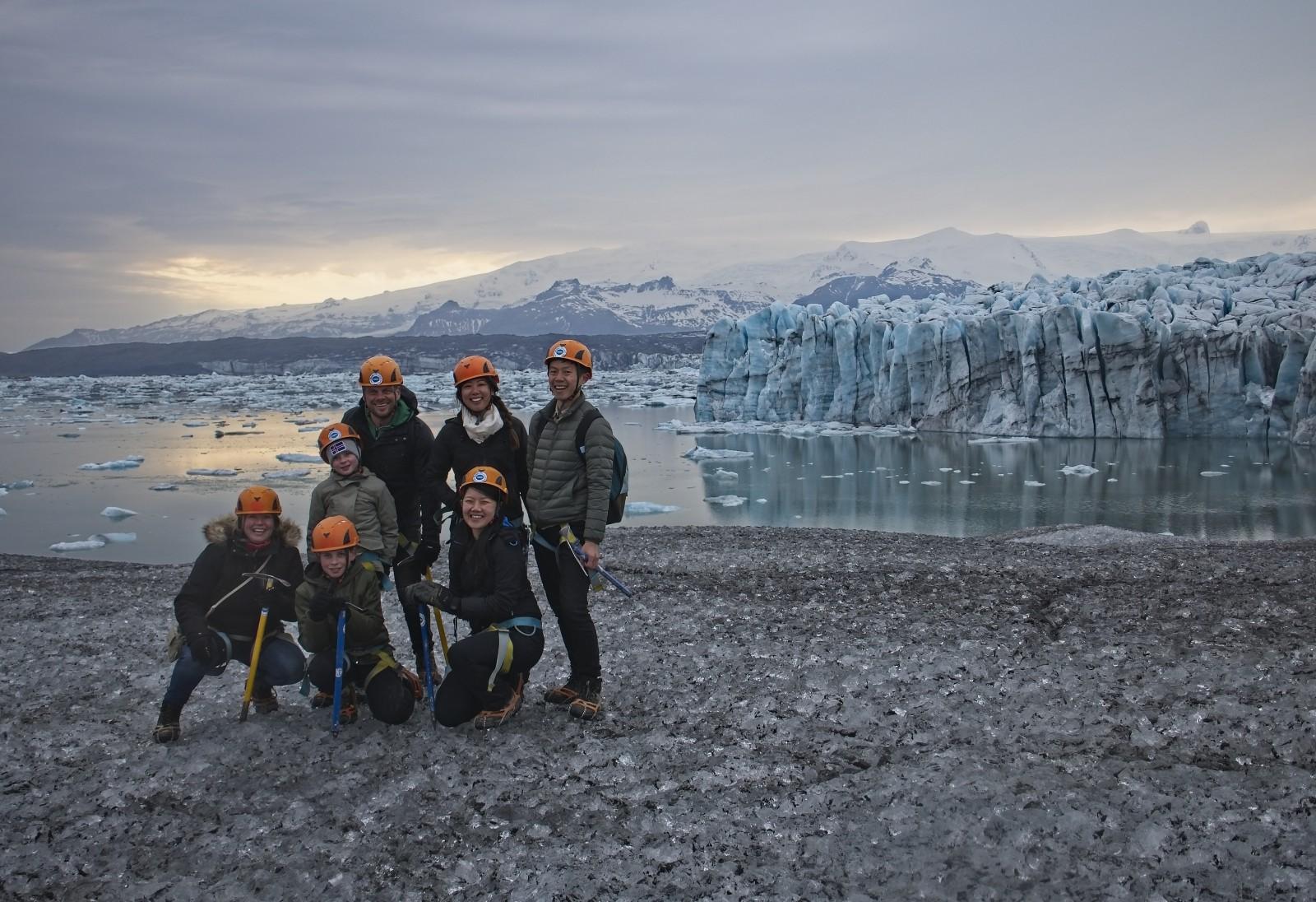 Glacier Walk Group - Blue Iceland - Vatnajökull - Blue Steel, Jökulsárlón